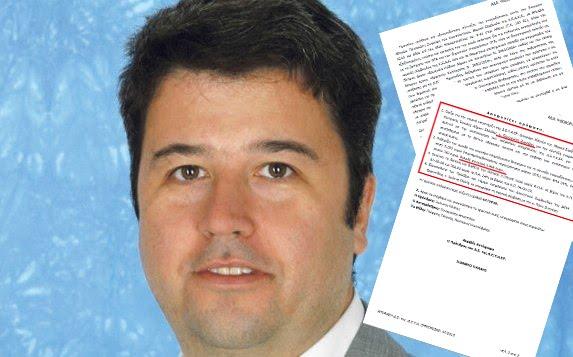 Πλαστογράφηση εγγράφων της ΔΕΥΑΡ Ερμιονίδας καταγγέλλει ο Τ.Λάμπρου