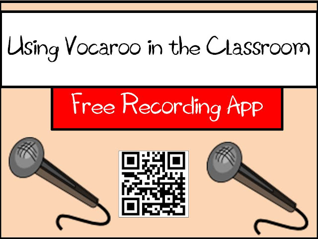 Free recording app - using vocaroo in the classroom - ideas from Raki's Rad Resources