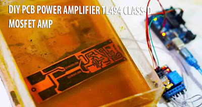 DIY Power Amplifier class-d high power amplifier