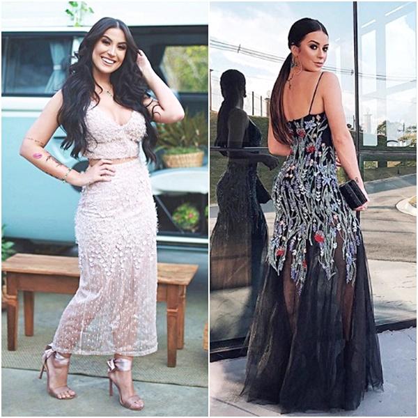 Casamento Niina Secrets: Look das Convidadas Bianca Andrade Boca Rosa Mariana Saad