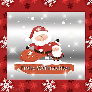 Weihnachtsbild frohe Weihnachten