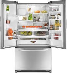 Không nên cho đầy thức ăn vào tủ
