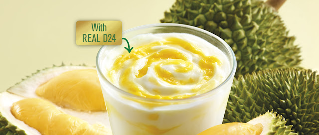 MCDONALD'S DESSERT of the MONTH D24 DURIAN MCFLURRY