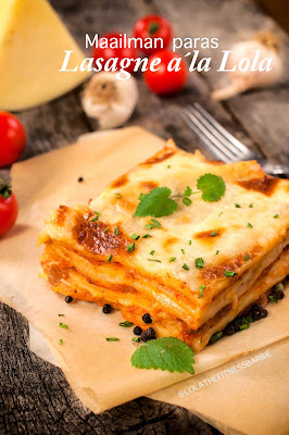 paras lasagne resepti