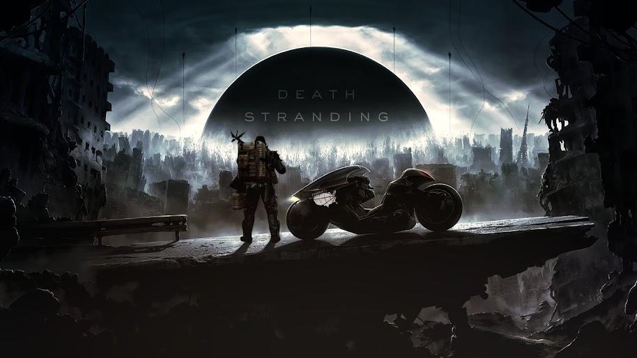 Death Stranding, Sam, Motorcycle, 4K, #11 Wallpaper