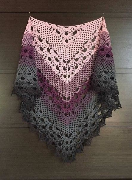 Crochet Shawl Pattern Wonderful Model With Tutorial And Graphical Free