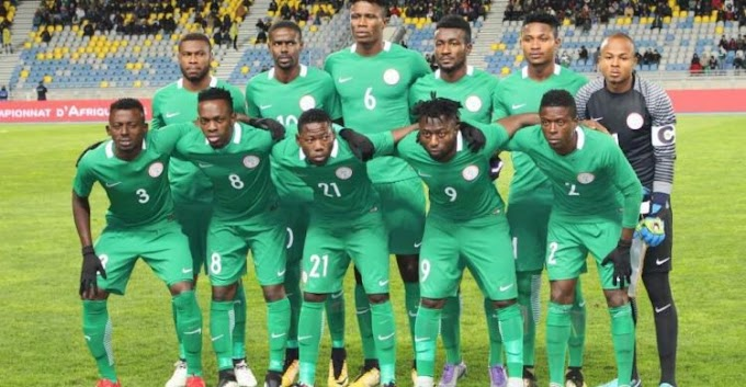 Super Eagles thrashed 4-0 against Morocco in CHAN 2018 Final