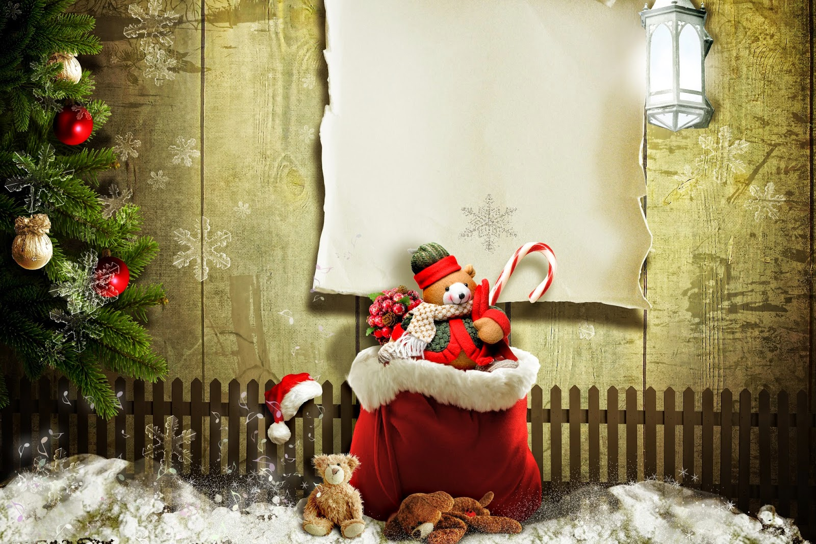 Christmas Teddy Bear Wallpaper: Cute Teddy Bear Wallpapers For Little Kids And Children