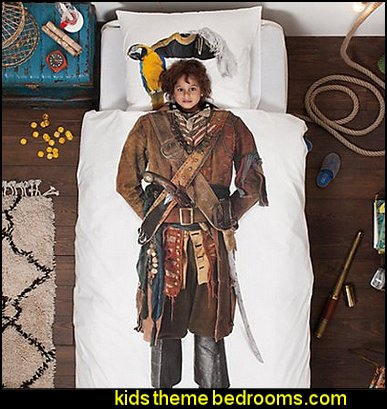 Snurk Pirate Duvet Cover
