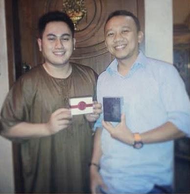 Artis Nazar Fahad Ahmad Sungkar Memakai Parfum Original FM