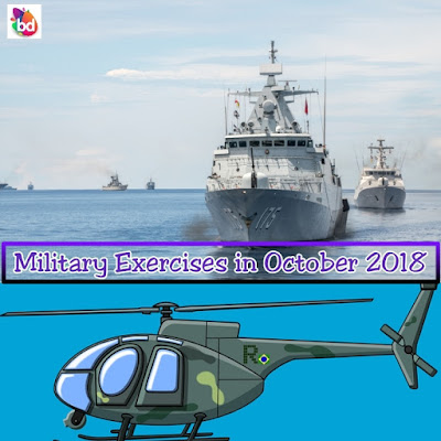 Military Exercises Held in October 2018