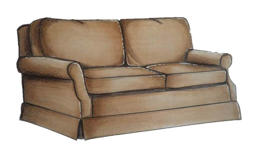 Wednesday S Sketchbook How To Colour In A Sofa Interior