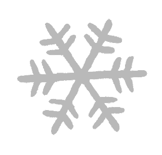 snowflake winter illustration grayscale image