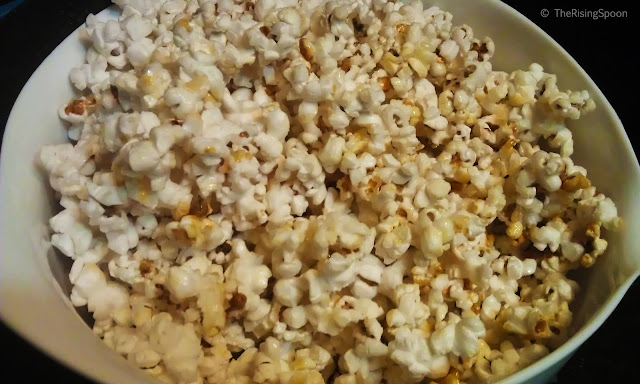 Homemade Vegan Kettle Corn with Coconut Oil