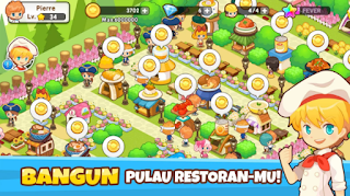 Restaurant Paradise: Sim Game Mod Apk v1.0.1 Unlimited Money