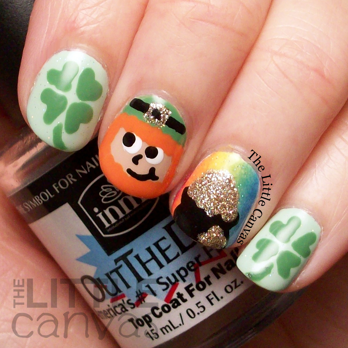St. Patrick\'s Day Manicure! - The Little Canvas