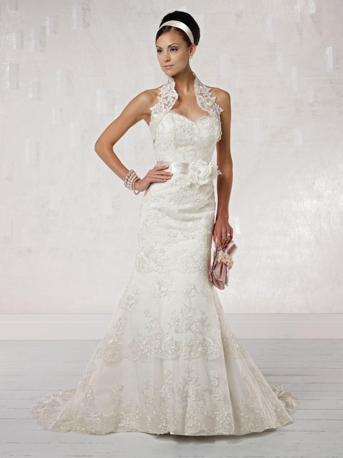 Modernos y sencillos vestidos de novia para el 2014 | Vestidos ...