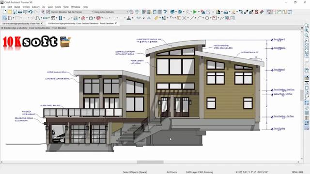 Chief Architect Premier X8 offline setup file Free Download