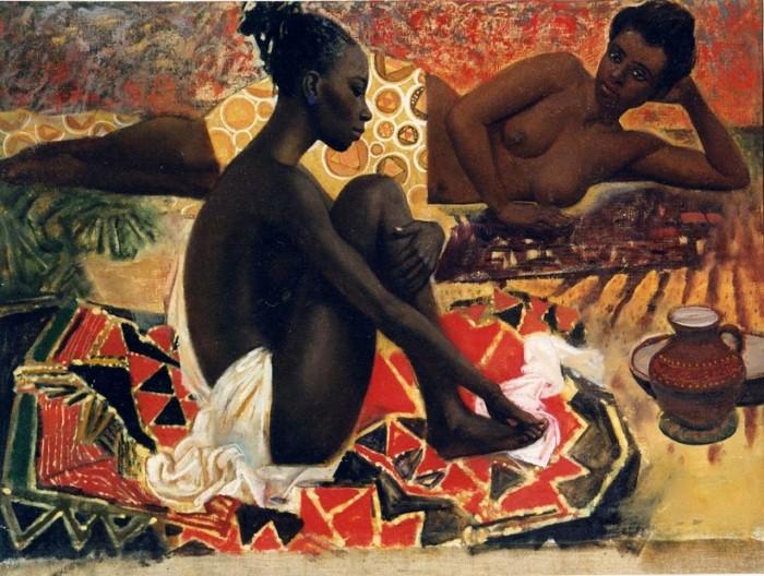 Teasfay Atcbekha Negga. Современный эфиопский художник 13