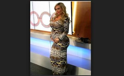 Coco Austin luce fabulosa sus nueve meses de embarazo