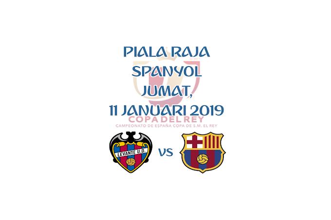 Copa del Rey 11 Januari 2019 Live Streaming