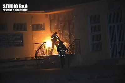 Η επίσημη ανακοίνωση της αστυνομίας για την εξιχνίαση του εμπρησμού της υπηρεσίας συγκοινωνιών στην Αργολίδα