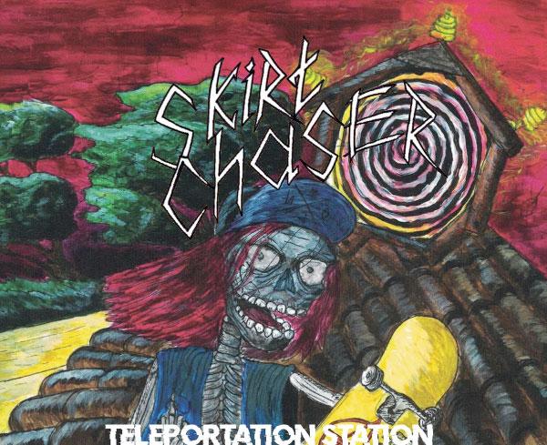"""Skirt Chaser stream new song """"Teleportation Station"""""""