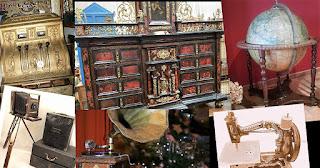 Collage de antiguedades ejemplo para el desembalaje de Arriondas
