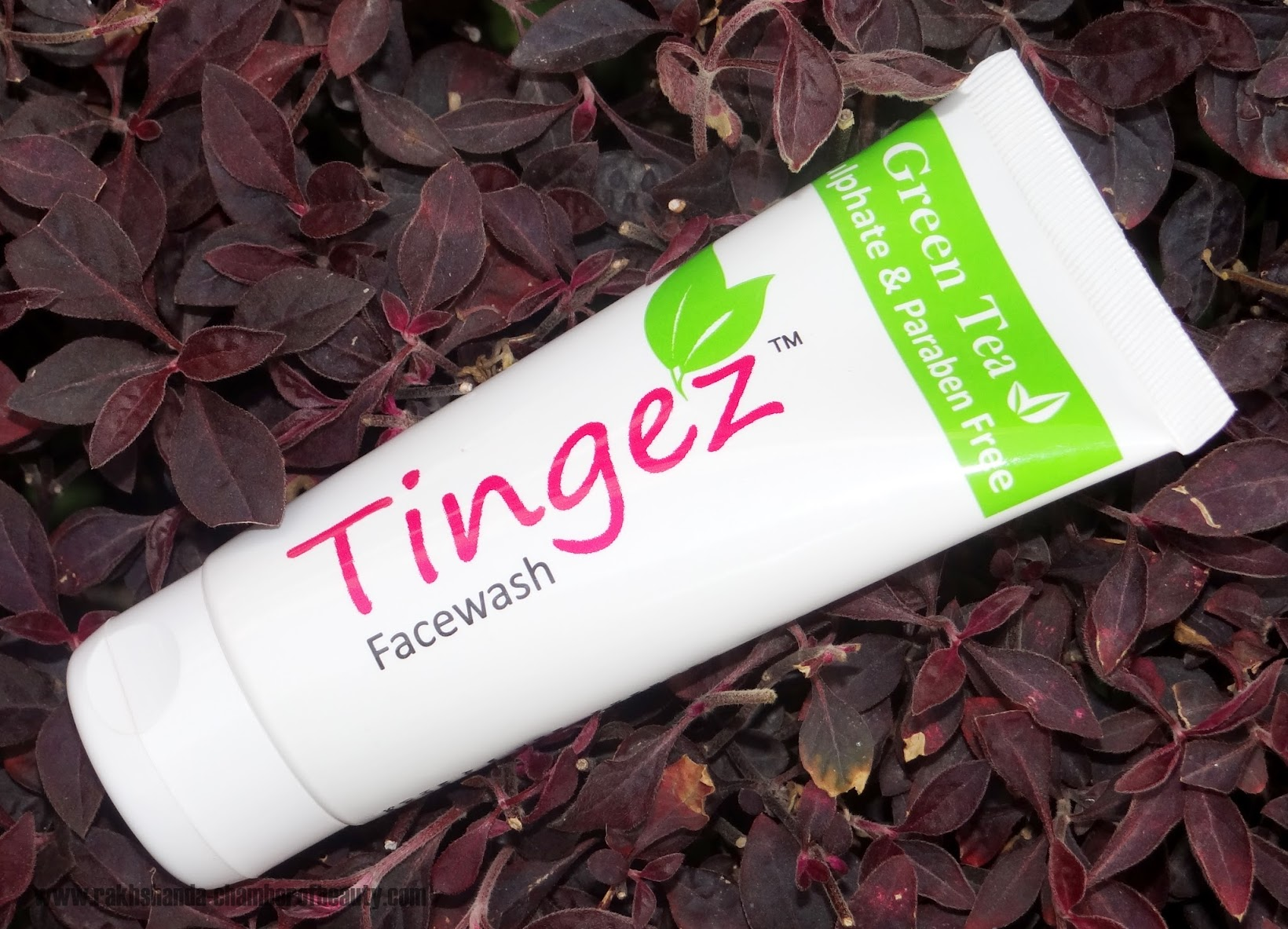 Tingez Green Tea FaceWash Review and Price in India