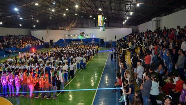 Abertura dos Jogos Bom de Bola 2018 Fase Regional RONCADOR