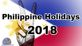 Listahan ng Non-Working Holiday's sa Pilipinas