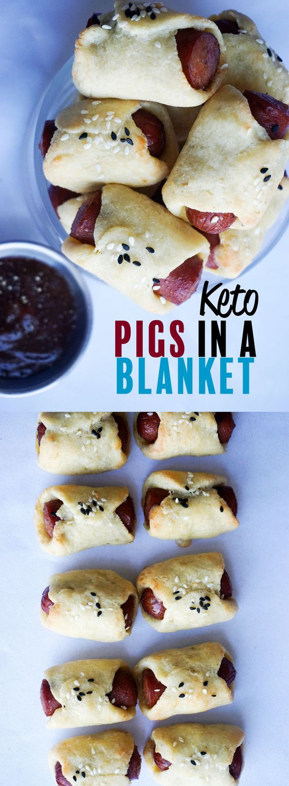 Keto Pigs In A Blanket | Make Snack Time Fun Again!