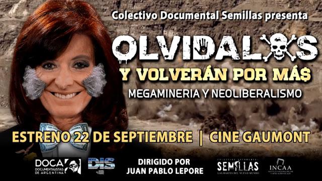 Olvídalos y Volverán por Más (J. Pablo Lepore) Documental Estreno