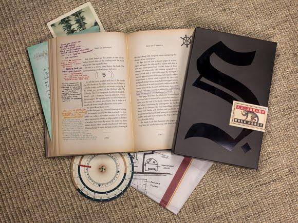 Quebra-Cabeça Literário | S. por J.J. Abrams e Doug Dorst
