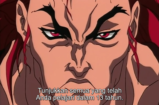 Baki The Grappler Episode 09 Subtitle Indonesia
