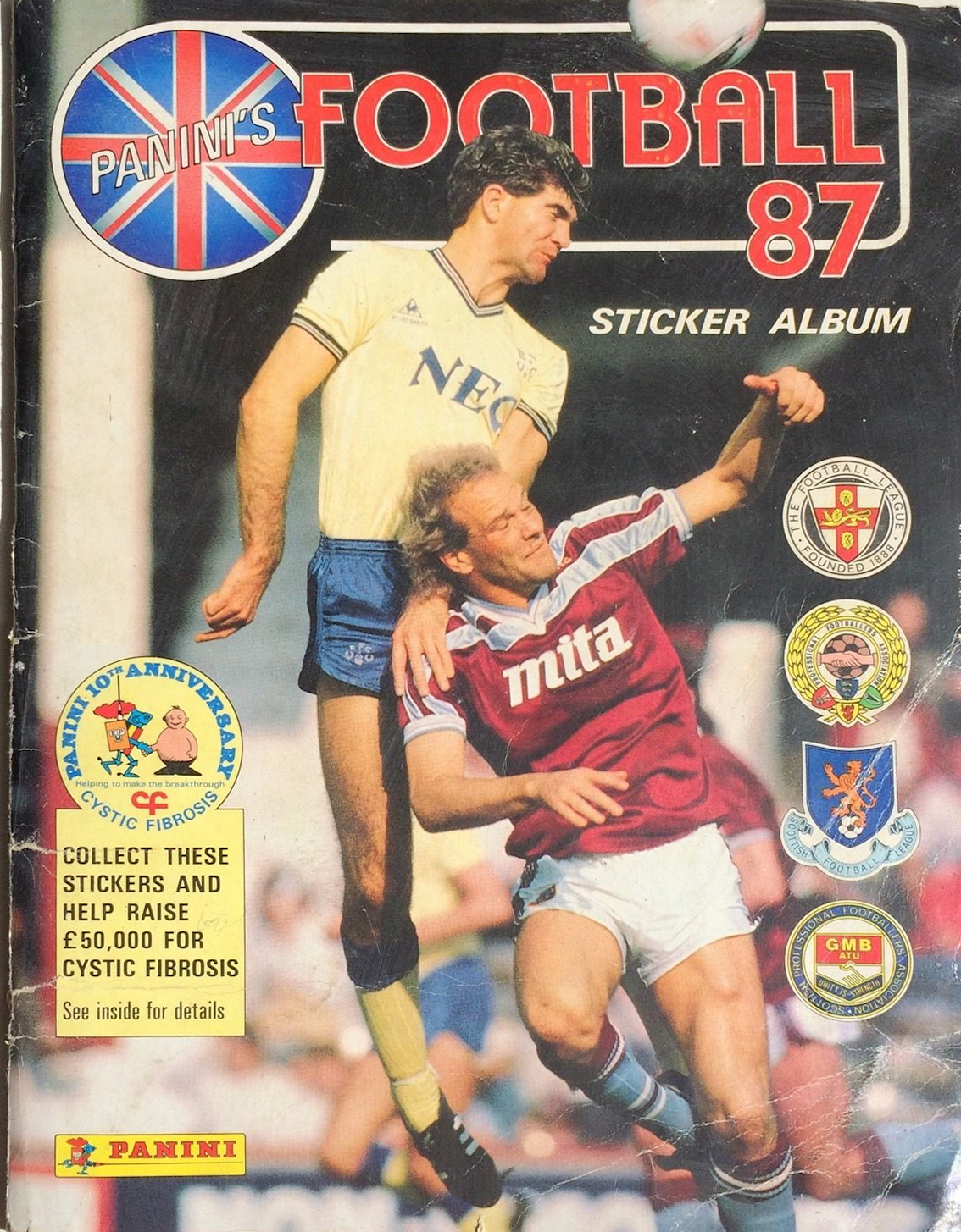 PANINI FOOTBALL 87-#184-NEWCASTLE UNITED-BARNSLEY-MARTIN THOMAS