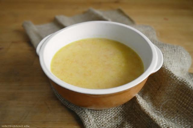blomkålssoppa med ost