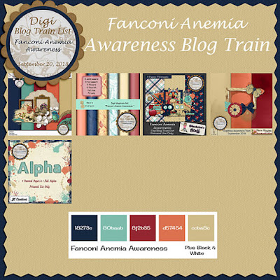 Digi Blog Train List Fanconi Anemia Awareness Freebie
