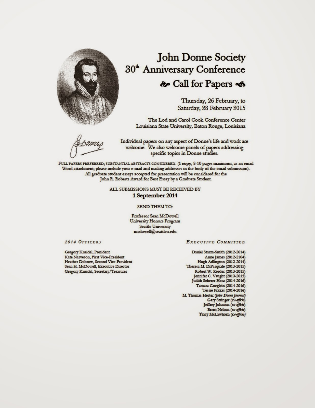 John Donne Society Digital Prose Project