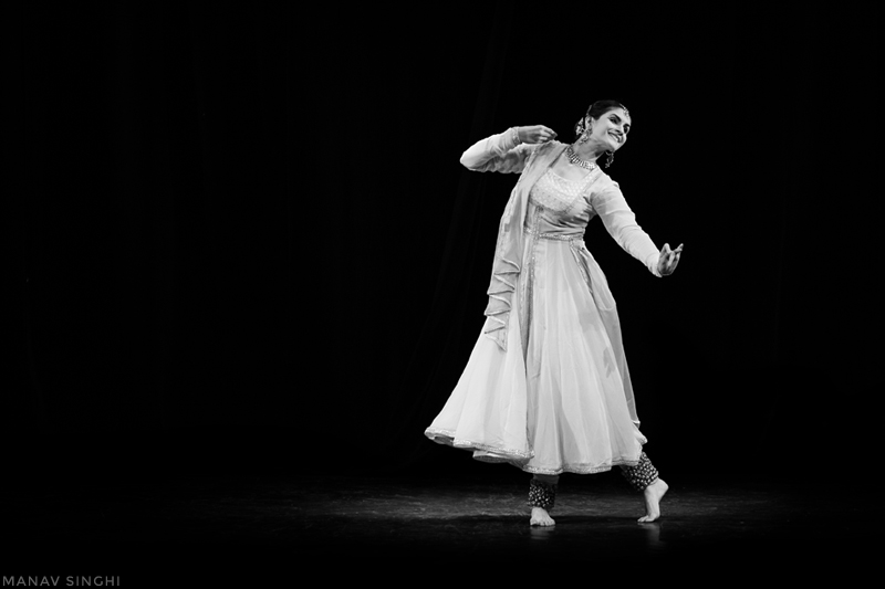 Lovely Kathak performance on the eve of 29sept at Jawahar Kala Kendra, Jaipur by Nayantara Parpia.