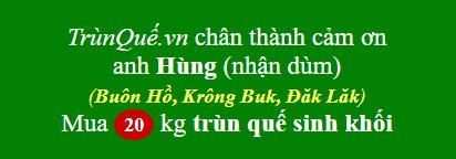 Trùn quế Buôn Hồ, Krông Buk