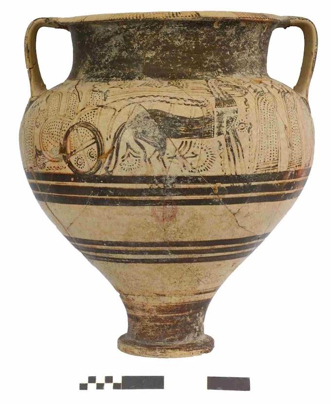 Εξαιρετικά μυκηναϊκά και μινωικά αγγεία βρέθηκαν στην Κύπρο