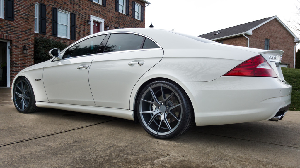 2008 Mercedes Benz Cls 63 Amg On Verde Axis Wheels
