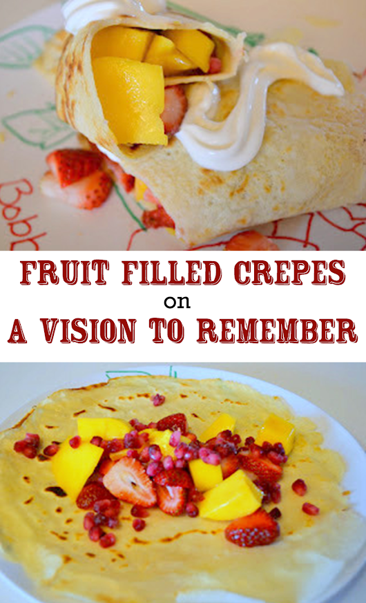 Fruit Filled Crepes Recipe