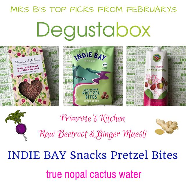 Degustabox: Mrs B's Top Picks February 2018