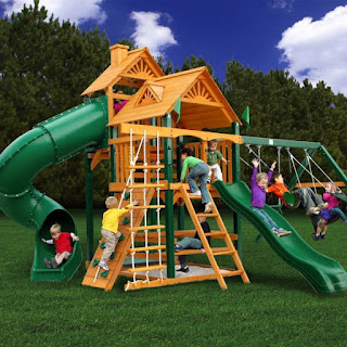 Recycled-play-equipment