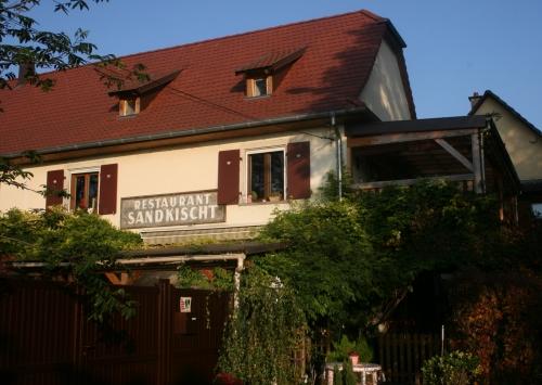 Restaurant Sandkischt Strasbourg - Restaurant Sandkischt - Tarte flambée - Restaurant Waedele