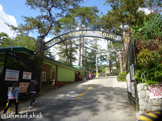 Gate of Good Shepherd Convent in Baguio