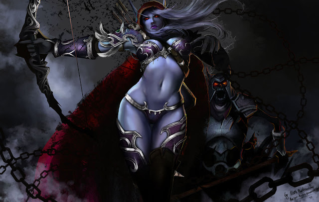 lady sylvanas windrunner wallpaper 1
