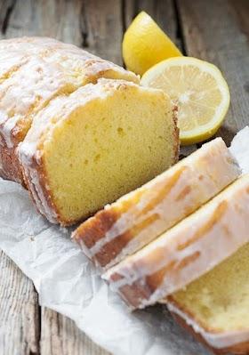Glazed Lemon Pound Cake Loaf